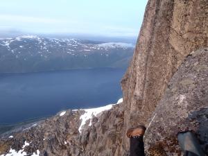 """""""Vuorilla on jotenkin vaikeaa saada horisontti suoraan."""""""